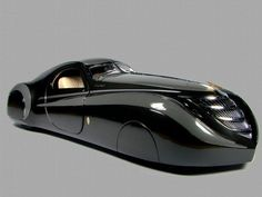 1939 Duesenburg Coupe Simone Midnight Ghost...words would just be an understatement. source