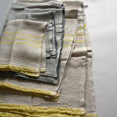 LAPUAN KANKURIT / USVA summer blanket 150×200(Yellow) - B.L.W online lifestyle shop