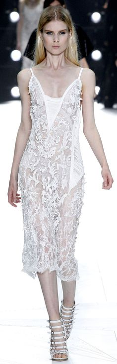 Roberto Cavalli Spring Summer 2013 Ready-To-Wear Collection #lace