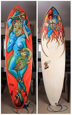 Diseños en Tablas de Surf [FOTOS]