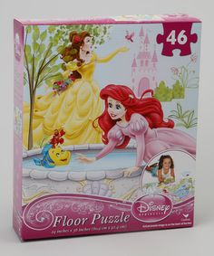 Look what I found on #zulily! Princess Floor Puzzle by Disney #zulilyfinds