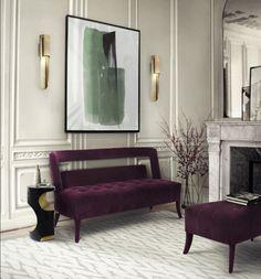 NAJ 2 Seat Sofa from Brabbu | Two Seat Sofa. Living Room Ideas. Living Room Inspiration. #modernsofas #livingroomideas #smallsofa See our collection at: brabbu.com