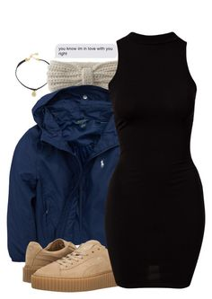 """In love ❤️"" by melaninaire ❤ liked on Polyvore featuring Vanessa Mooney, Aéropostale, Ralph Lauren, Puma and River Island"