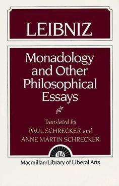 Monadology and Other Philosophical Essays - Leibniz