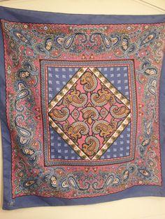 Retro Paisley Bandana Scarf Soft Cotton Woven by toliveforlove, $12.00
