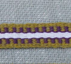 Inkle Weaving Medieval Trim Inkle Woven Hand Woven by inkleing