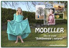 Allt kan grönska - fotograf Maria Berg, Söker alltid modeller för sina fotoprojekt.