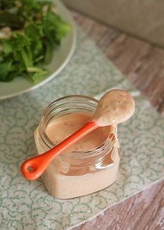 Homemade Thousand Island Dressing | Kitchen Treaty  Guilty pleasure - I love thousand island dressing.