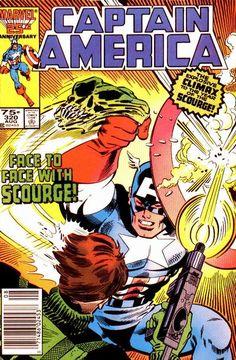 Captain America # 320 by Paul Neary & Joe Sinnott