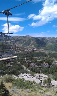 Scenic Chairlift Ride- July 20, 2012