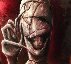 ex0skeletal: Creepy Paintings by Zack Dunn