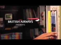 What a great idea for British Airways to promote their flights. According to them, some people don't know British Airways has other destinations than the UK as well. So they promoted these other destinations, right at the level where people decide where to go to. Through travel guides in a bookstore. Check out what happens in this video.
