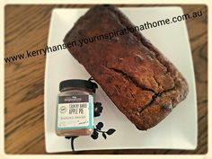 Clean banana and date loaf