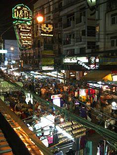 Khao San Road, Bangkok. And a whole lot more Thailand Info @ http://islandinfokohsamui.com #Thailand #Samui #tours @islandinfosamui