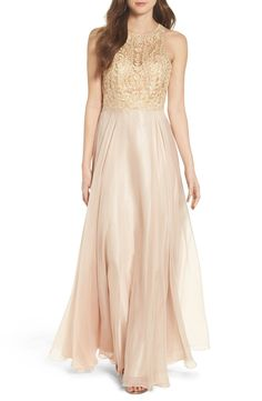 Sean Collecion Embellished Gown available at #Nordstrom