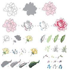 Peony Bouquet - Altenew - 2