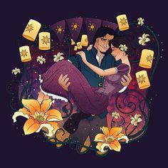Magical Moments: Rapunzel & Flynn #disney #tangled #rapunzel #flynnryder #disneytangled #disneyfan #disneylove #disneyart #magicalmoments