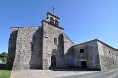 Coruña San Salvador de Bergondo La primera noticia de este monasterio benedictino es una donación efectuada en 1126, cuando se cree que hacía poco que habría sido fundado.