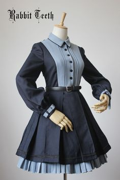 --> For #SteampunkLolita: [-⌚☸-Rabbit Teeth ~Engineering Trainee~ OP-⌚☸-] --> [-❣-Very Limited Quantity   Fast Ship-✈-] --> Learn More >>> http://www.my-lolita-dress.com/rabbit-teeth-engineering-trainee-steampunk-lolita-op-dress-rt-4
