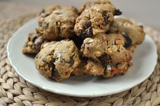 Junk in Da Trunk Cookies - with potato chips, pretzels, peanuts, malted milk balls.. from Hedy Goldsmith Baking Out Loud cookbook