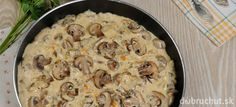 Hubová bešamelová omáčka Mashed Potatoes, Meat, Chicken, Ethnic Recipes, Food, Cooking, Whipped Potatoes, Smash Potatoes, Essen