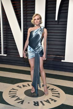 Diane Kruger in Alexandre Vauthier at the 2017 Vanity Fair Oscar Party