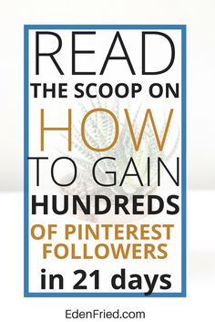 Learn how I EXPLODED my Pinterest following in less than a month. Grow your Pinterest account and GROW your blog. Learn the secrets now. >>