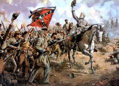 1864 - Lee´s Texans - Battle of Wilderness