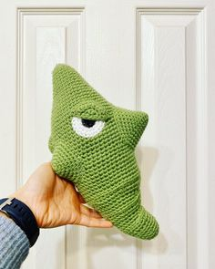 Ravelry: Metapod amigurumi pattern by Cindy Tran Pokemon Crochet Pattern, Amigurumi Patterns, Crochet Patterns, Kawaii Crochet, Crochet Toys, Knit Crochet, Yarn Tail, Knitted Dolls, Single Crochet