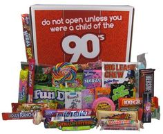 What better party favor to give out at the end than 90s candy! Pop Rocks, Ring Pops, Push Pops, War Heads, Bubble Tape Gum, the list could go on and on. If you want to throw in a little something extra, put in a cassette tape with the date, title, and color scheme of your 90s theme on the label. This way, they have the perfect retro keepsake to remember your party by!