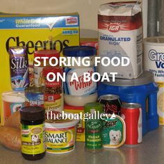 How do you store food in a hot, humid moving place with no obvious pantry? Tips for storing just about every type of food, with or without a refrigerator.