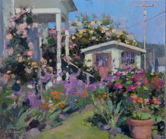 Jim McVicker Paintings: Gardens, Figures and Painters
