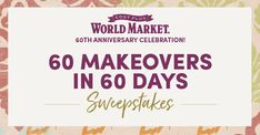 Old world market sweepstakes