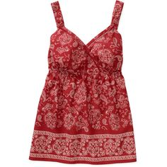 Faded Glory Womens Plus-Size Print Woven Surplice Cami