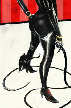 Catwoman by Tyler Champion