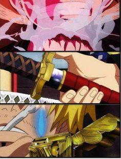One Piece, Luffy, Zoro y Sanji