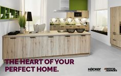 Make the heart of your home sparkling and beautiful with Hacker!