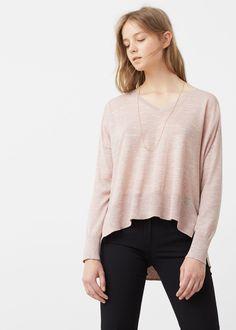 Melierter pullover - Cardigans und pullover für Damen   MANGO Deutschland  Damen, Mango Outlet, b4a58a10bb