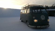 in love with this VW camper