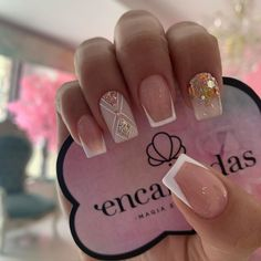 "4,556 Me gusta, 6 comentarios - @natta_cevedo»★«𝖈𝖗𝖊𝖆𝖉𝖔𝖗𝖆»★ (@encantadasnails) en Instagram: ""Recuerda que nuestro horario cambió!! Te invito a seguir mi página en YouTube  Puedes encontrarme…"" Short Square Nails, Short Nails, Cute Nails, My Nails, Nail Time, Short Nail Designs, Green Nails, Nail Trends, Swag Nails"