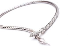 Copycat: Naomi Watts Bvlgari Serpenti Necklace or this vintage Whiting & Davis snake necklace (for just $58!)