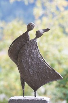 Figuren in paverpol/powertex en stone art