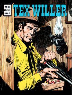 Tex Willer -lehti no 2/2015. #sarjakuva #sarjis #sarjakuvalehti #egmont