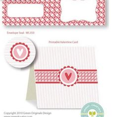 Printable Valentine Stationary {Free Stuff}