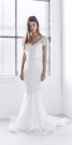 2017 Collections From Top Wedding Dress Designers ❤ See more: http://www.weddingforward.com/wedding-dress-designers/ #wedding #dresses #designers