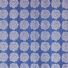 Amazon.co.jp | marimekko(マリメッコ) カットクロス 約68×50cm PUKETTI(プケッティ) ブルー | ホビー 通販