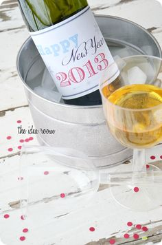 New Years Eve Printable 2013 via Amy Huntley (The Idea Room)