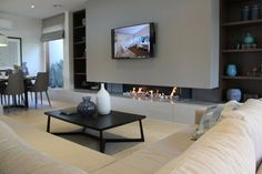 Realflame Purevision. Stunning! - Long / landscape look gas fires - Heatworks