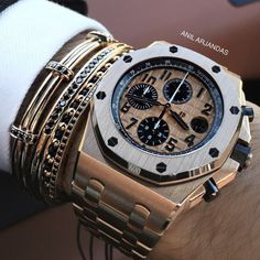 Audemars Piguet and Anil Arjandas jewels