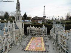Parque temático Mini Europe, en Bruselas